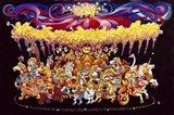 Velvet Carousel Art Print