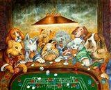 Lucky Dogs Art Print
