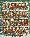 Will The Real Santa Art Print