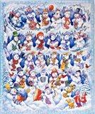 Snowfolks Art Print