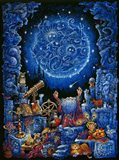 Astrologer 2 Art Print