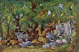 Noah And Friends (Part 2) Art Print