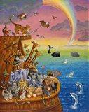 Noah & The Rainbow Art Print
