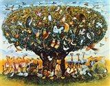 Noah And The Birds Art Print