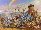 Noah Rejoicing Art Print