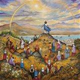 Sermon On Mount Art Print