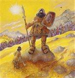 David & Goliath Art Print