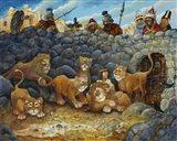 Daniel In Lions Den Art Print