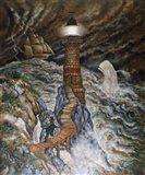 Ahab's Light Art Print