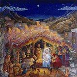 Nativity Art Print
