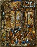 Holy Cats 2 - Nuns Art Print