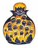 Holloween Cats Art Print
