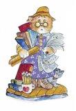 Teacher Cat Art Print