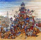 Lighthouse Treasure Art Print