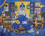 My Blue Heaven Art Print