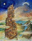 Tower Of Babel 2 Art Print