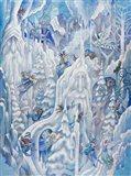 Ice Fairies Art Print