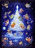 The Star Tree - Rectangle Art Print