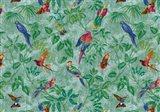 Aviary Aqua Art Print