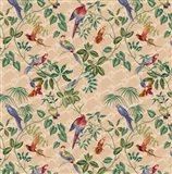 Aviary Small Scroll Neutral Art Print