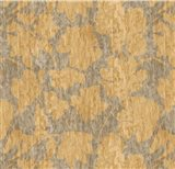 Floral Waltz Mono Sand Straw Art Print