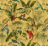 Jungle Canopy Amber Art Print