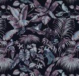 Jungle Canopy Midnight Art Print