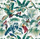 Jungle Canopy Multi Art Print
