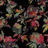 Mudan Silhouette Floral Art Print
