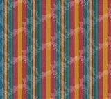 Scroll Stripe Art Print