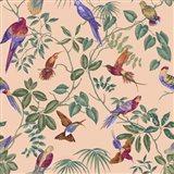 Aviary Final Blush Art Print