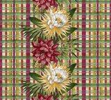 Cereus Plaid Multi Art Print