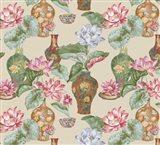Chinese Vases Butternut Art Print