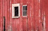 Barn Windows Art Print