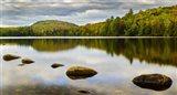 Fall Reflection On Ricker Pond Art Print