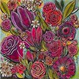 Spanish Flowers 1 Art Print