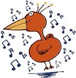 Music Bird Art Print