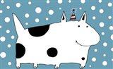 Snow Dog Art Print
