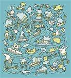 Animal Power Art Print