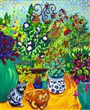 Los Gatos Garden Art Print