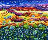 Patterns of Night Art Print