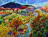 The Long and Winding River Art Print