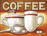Coffee Cafe Art Print