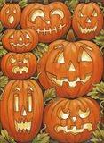 Jack O Lanterns Art Print