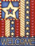 American Star Welcome Art Print