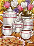 Coffee Sugar Cream Art Print