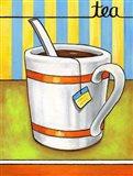 Good Morning Cafe Tea Art Print
