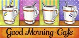 Good Morning Cafe Art Print