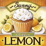 Cupcake Sunny Lemon Chiffon Art Print