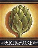 Market Sign Artichoke Art Print